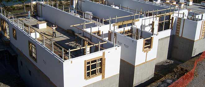 All about icf contruction parks icf for Insulated concrete form house